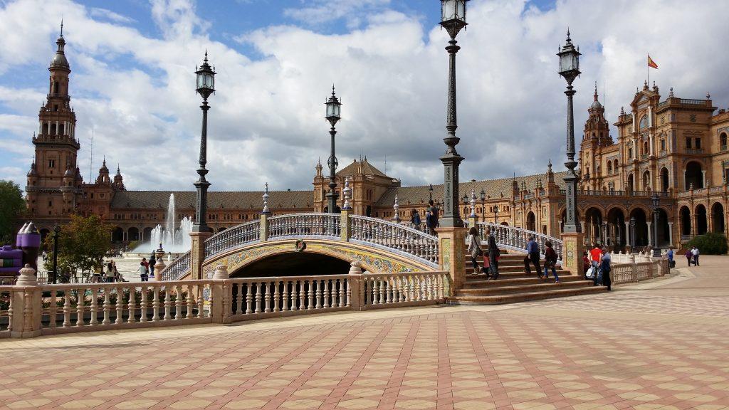 plaza de espana de sevilla