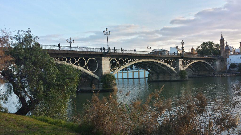 puente de barcas