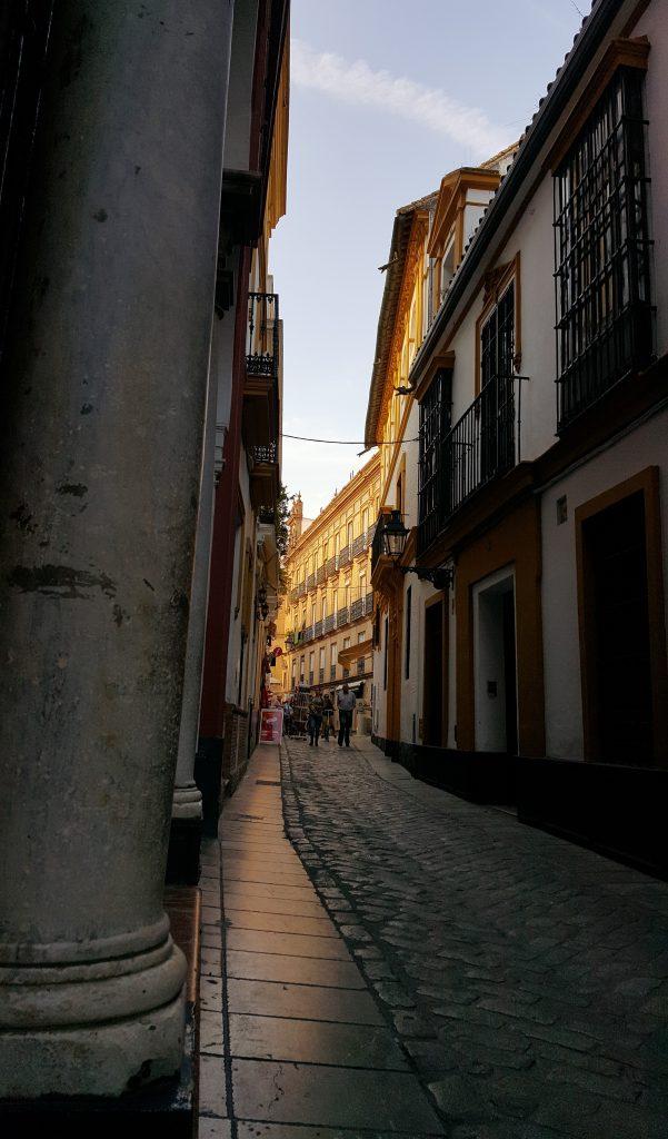 callejeando por el barrio de santa cruz