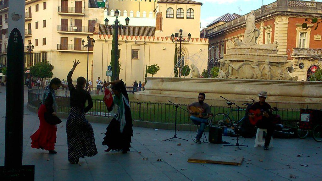 flamenco en puerta de jerez