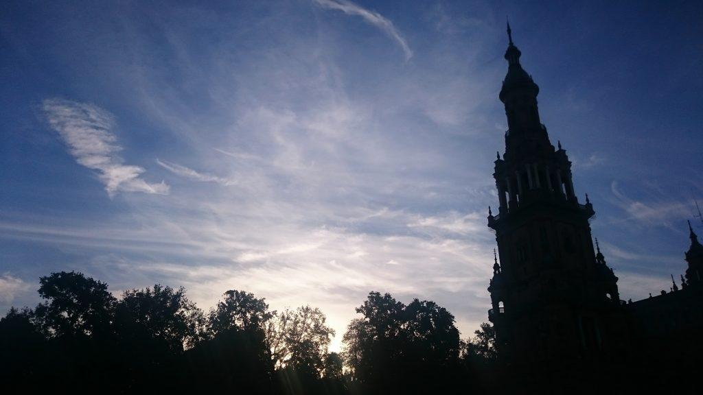 plaza de espana desde otra perspectiva