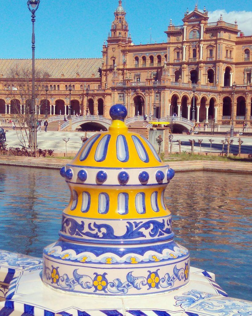 color en plaza de espana