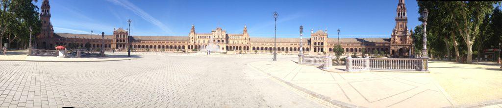 plaza de espana panoramica