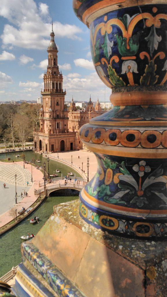 torre norte plaza de espana
