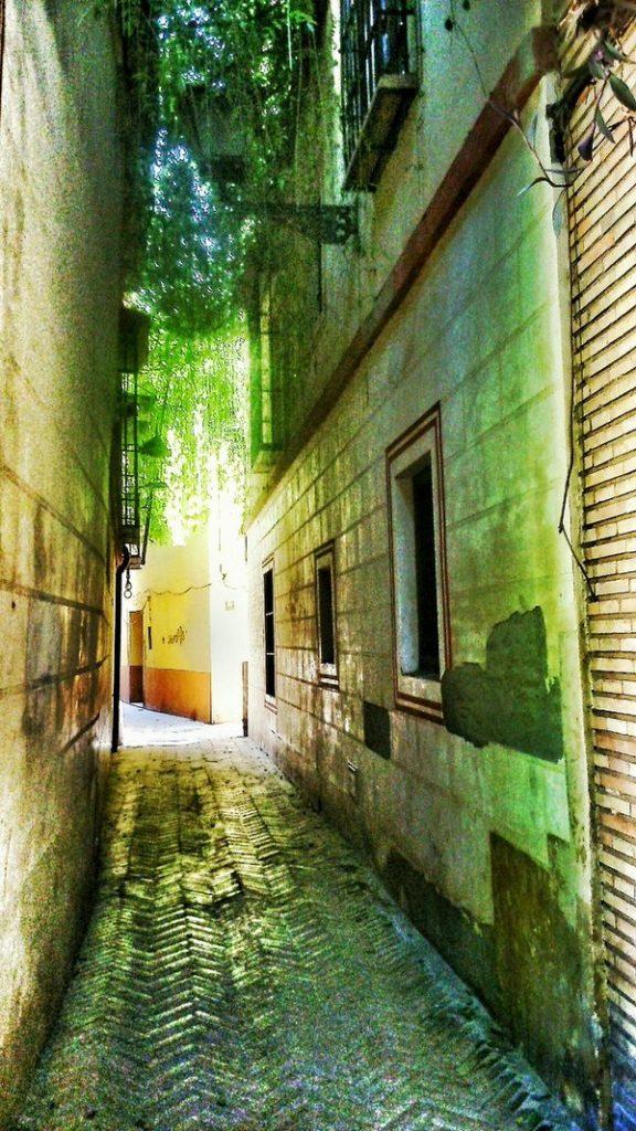 calle verde de la juderia